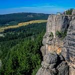 Góry Sowie: Szczeliniec Wielki o poranku