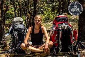 Sprzęt spakowany. Z takimi plecakami przeszliśmy ponad 500 km po Himalajach
