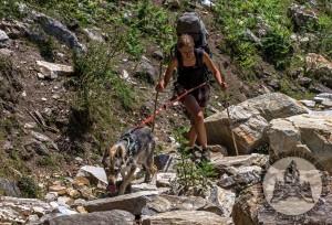 Diuna testowała także swój sprzęt - w szelkach urwała kolucho, elastyczna taśma stała się sztywna, obroża pękła ostatniego dnia 55-dniowego trekkingu.