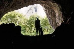 Diuna z Agi w jaskini w Rumunii
