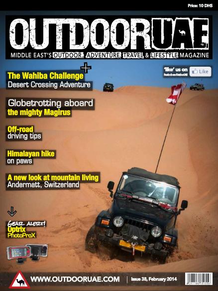 Outdoor UAE (numer luty 2014)
