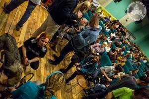 Pełna sala na 8. Festiwalu Włóczykij w Gryfinie