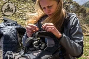 Sprzęt zawodzi - prują nam się ubrania, plecaki i namiot