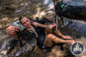 Nasz trekking był niezłym testem. Po 55 dniach rozpadł się niemal cały sprzęt. Niezniszczalne sandały? Zniszczone.