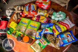 W większych wioskach i miasteczkach uzupełnialiśmy zapasy jedzenia.