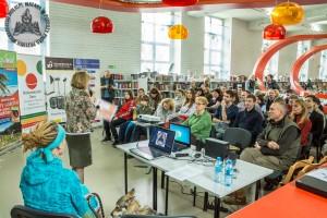 Ponad 50 osób na pokazie we wrocławskiej Mediatece